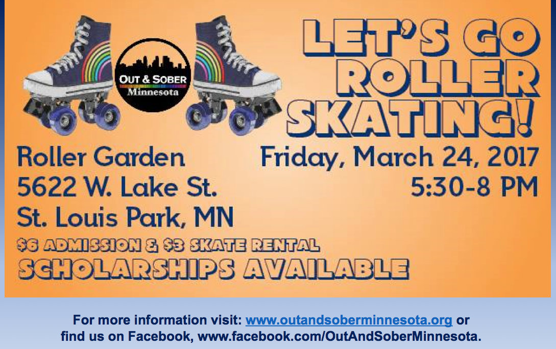 Let S Go Roller Skating Minnesota Recovery Connection