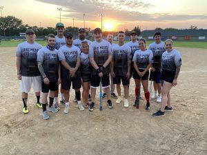 13 adults on a baseball team