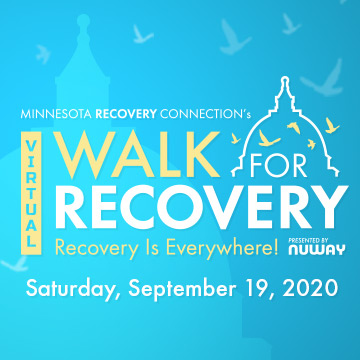 Logo for Virtual Walk for Recovery